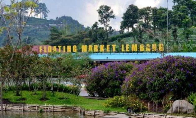 Harga Tiket Floating Market Lembang
