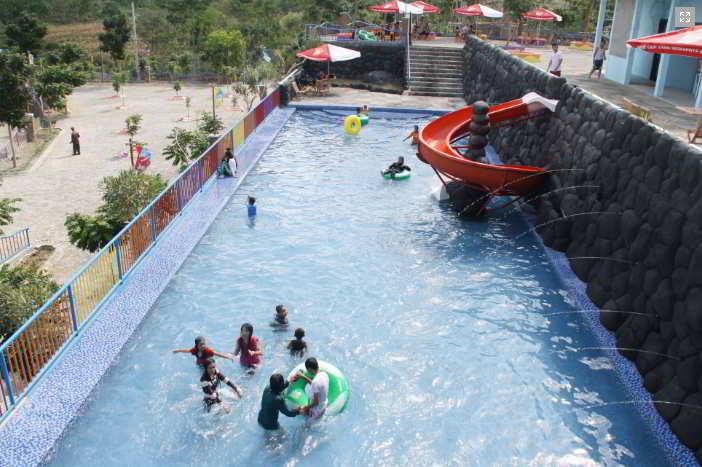Kolam Plaza Kediri Waterpark