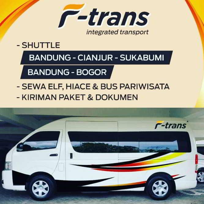 F-Trans Shuttle Travel Bandung Sukabumi