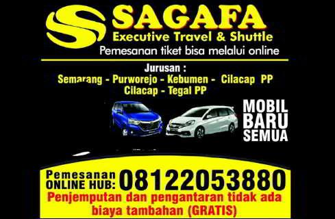 Travel Sagafa Trans Semarang Purwokerto