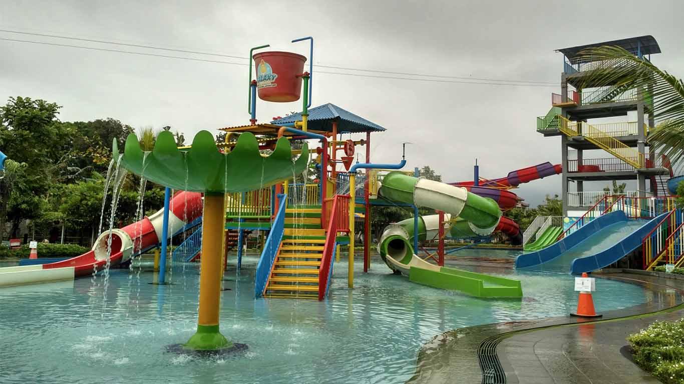 Wahana Galaxy Waterpark Yogyakarta