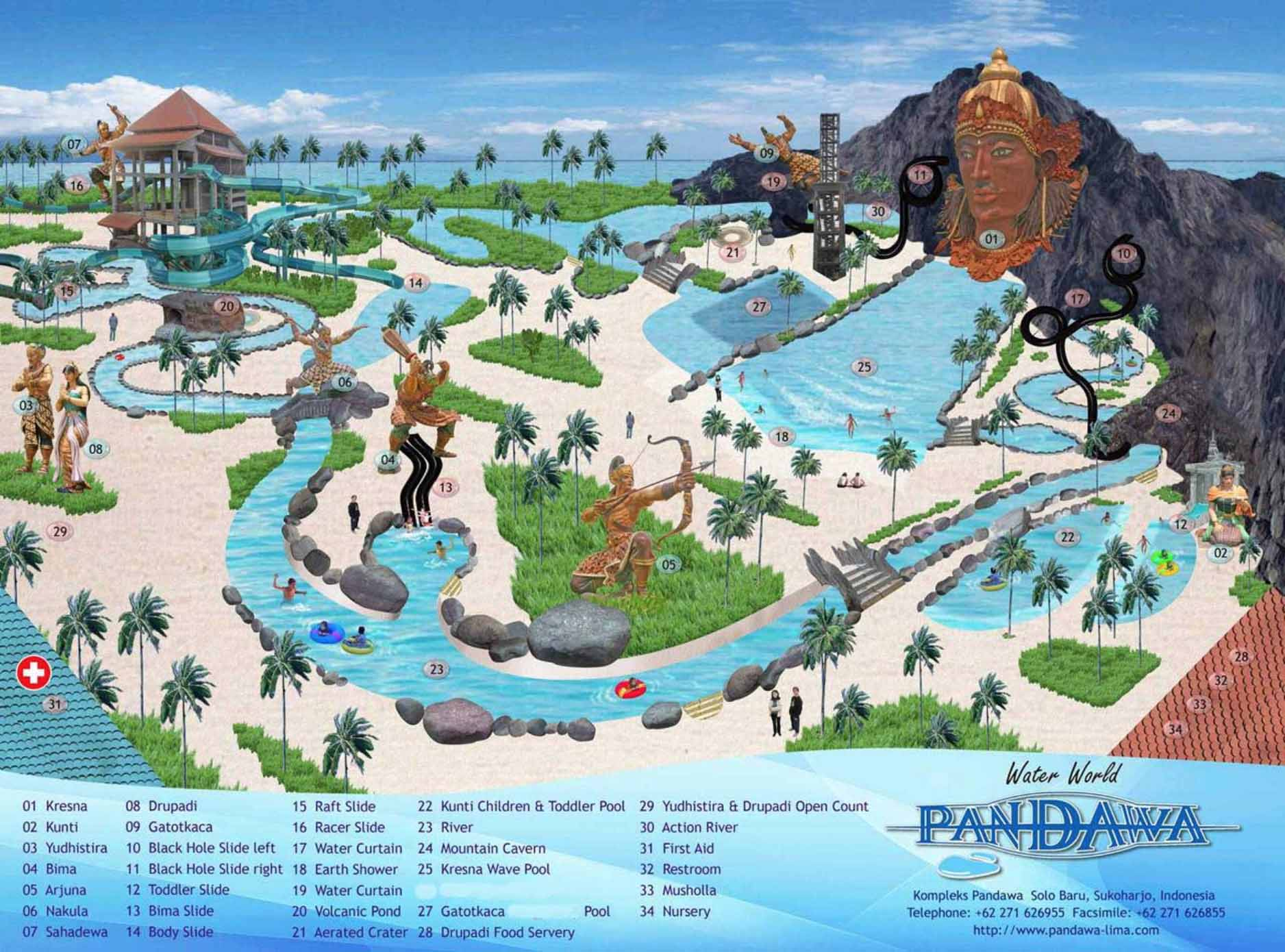 Wahana Pandawa Water World Solo