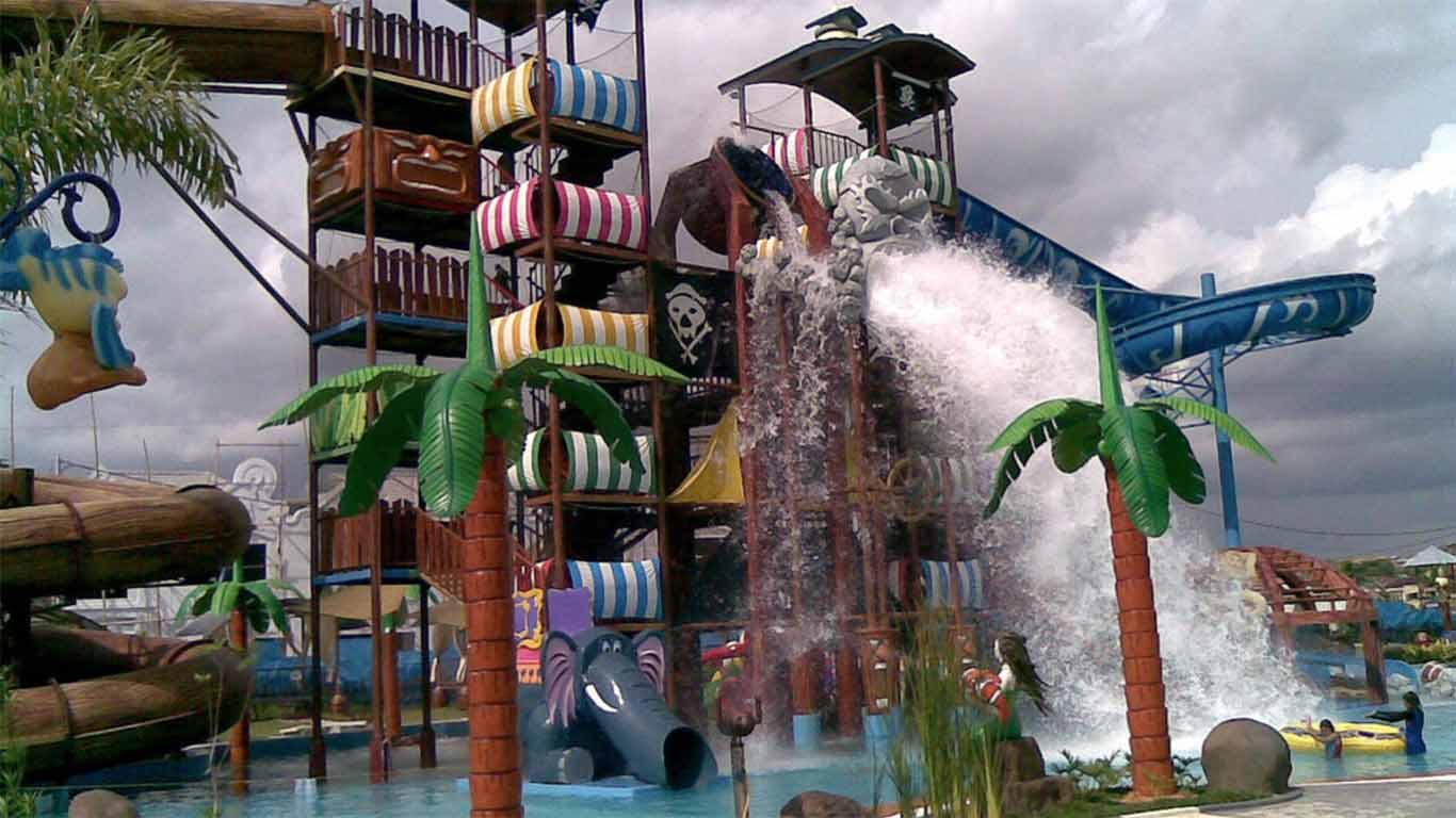 harga tiket caribbean island waterpark