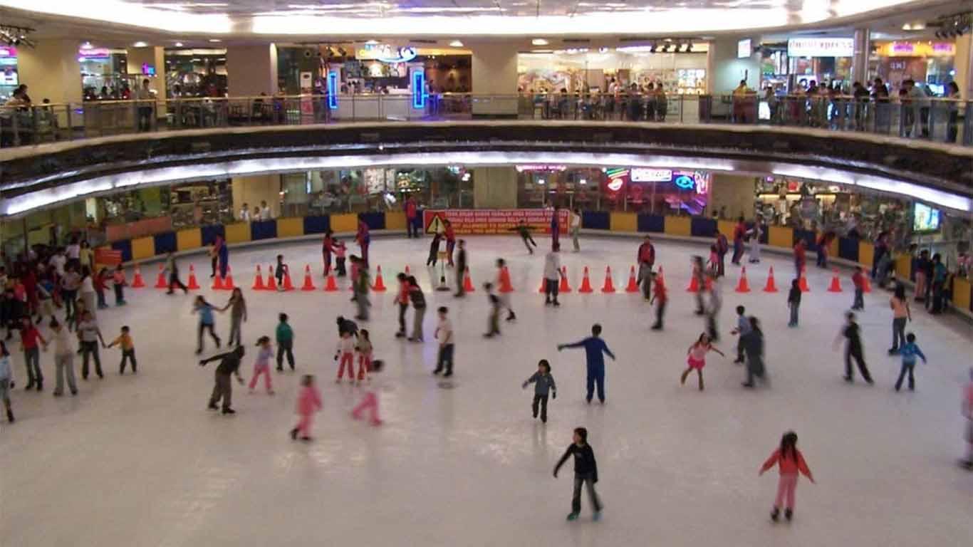 harga tiket ice skating taman anggrek