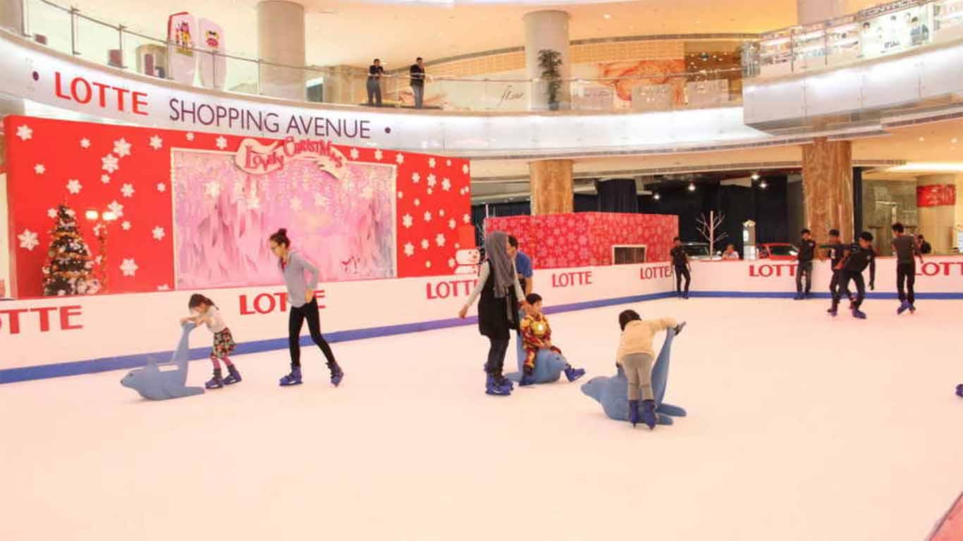 promo ice skating taman anggrek