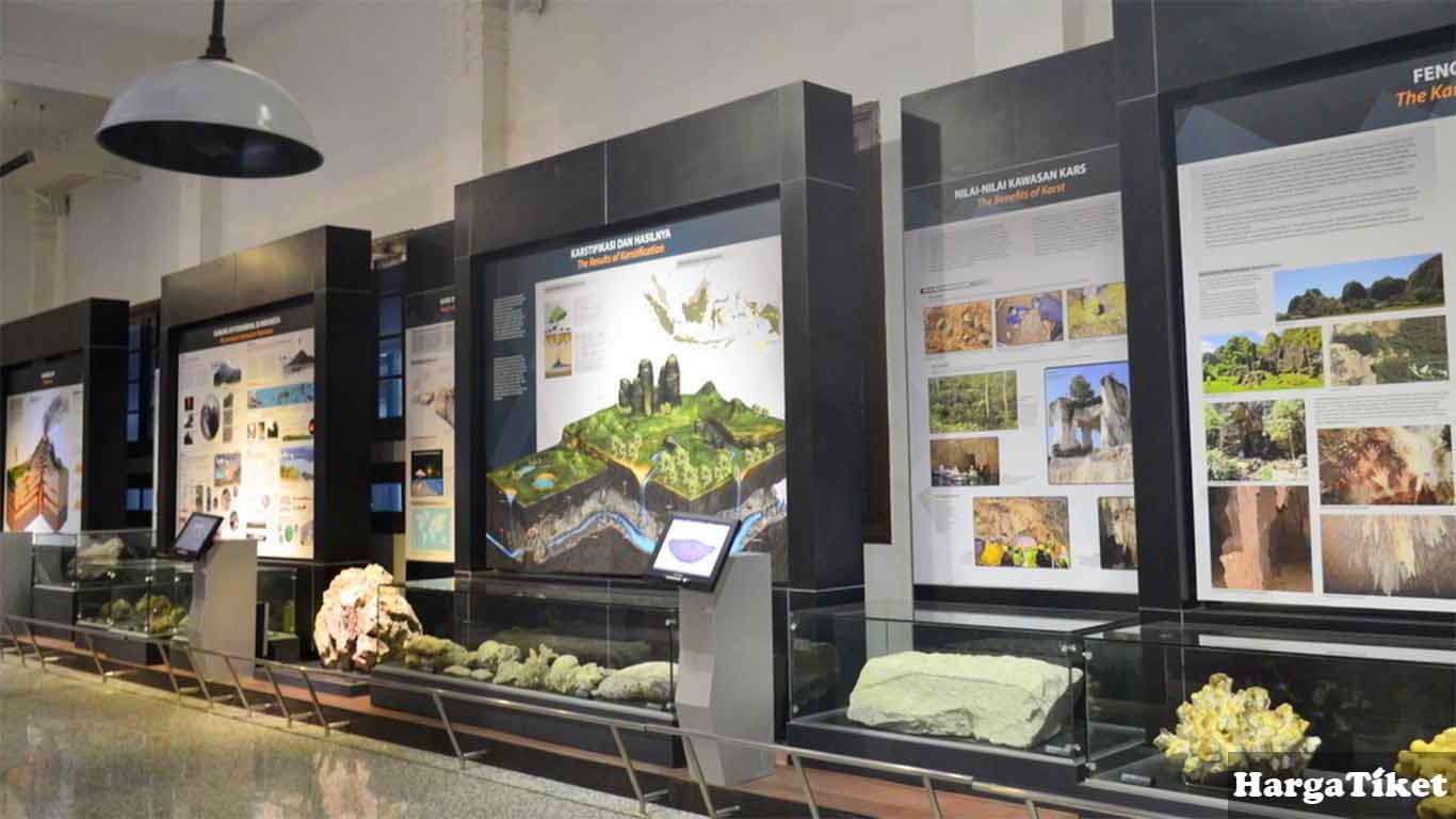 Harga Tiket Museum Geologi Bandung