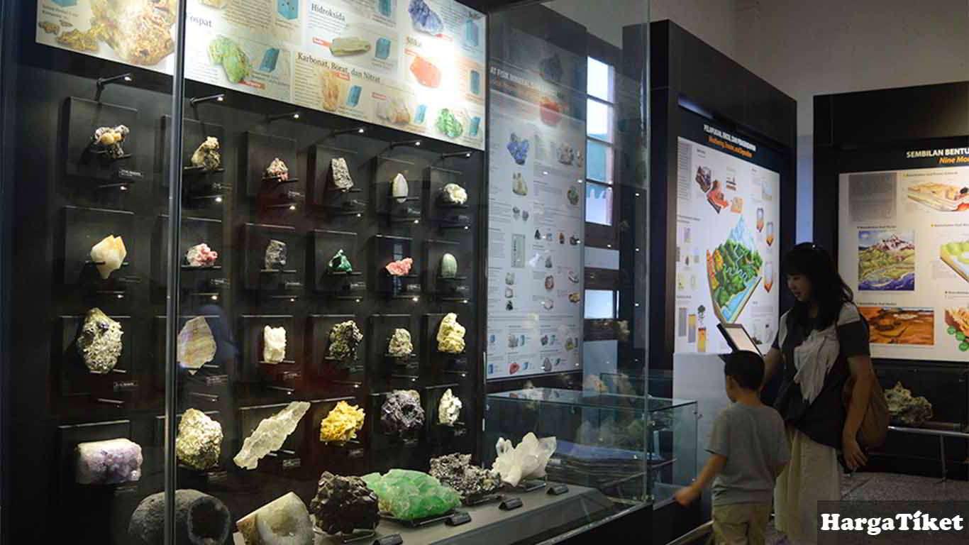 tiket masuk museum geologi bandung