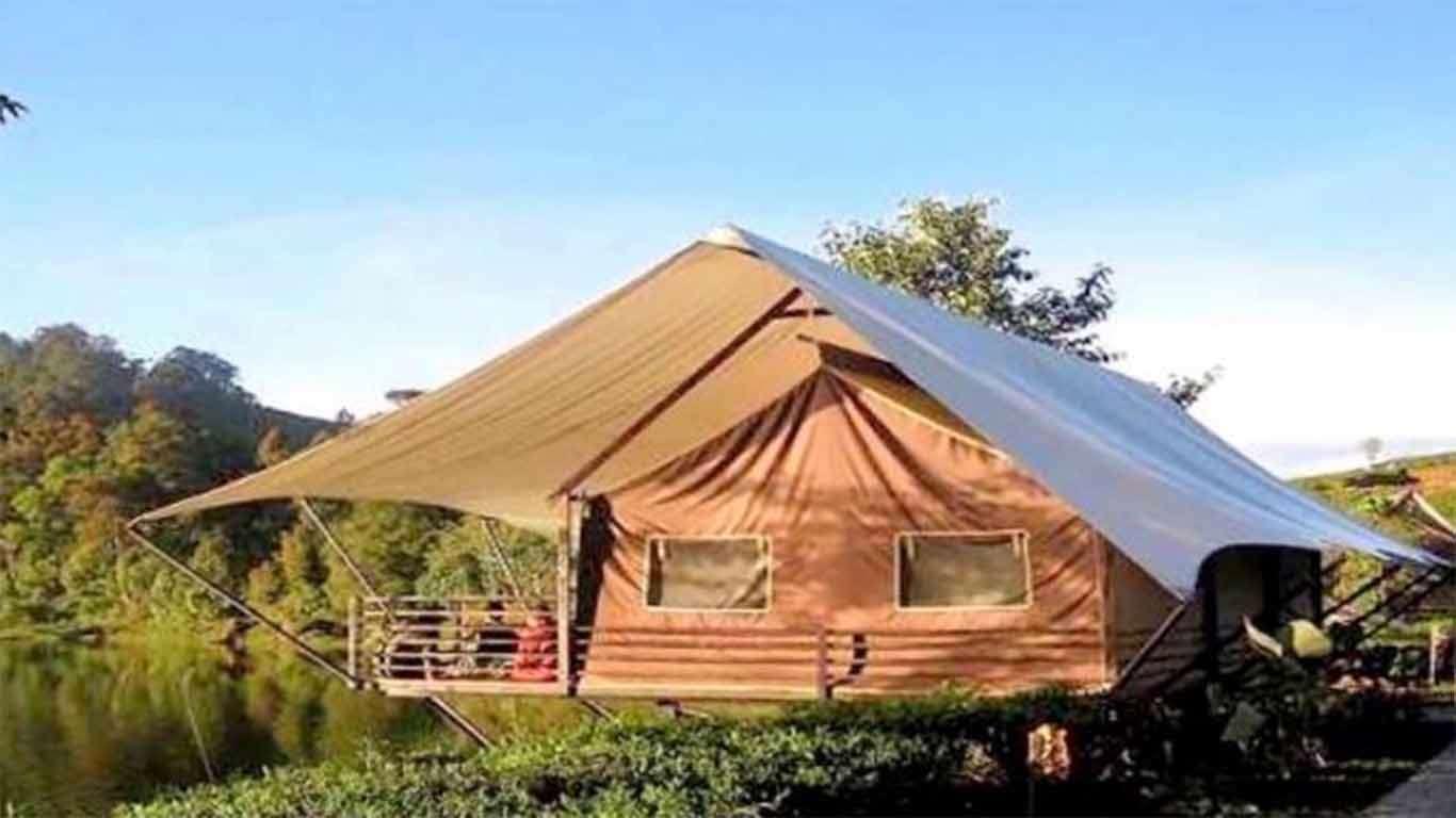 harga tenda glamping lakeside
