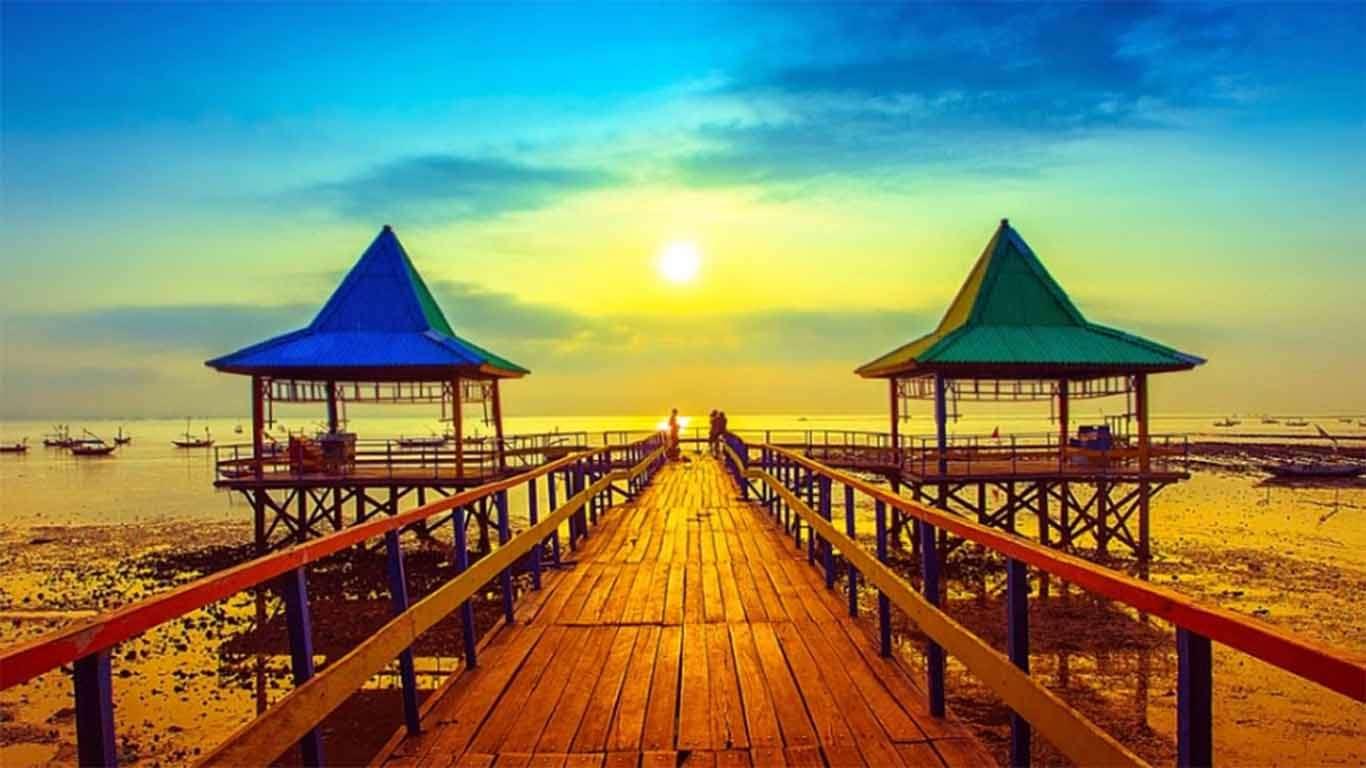 √ Wahana + Harga Tiket Masuk Pantai Kenjeran Lama dan Baru Surabaya