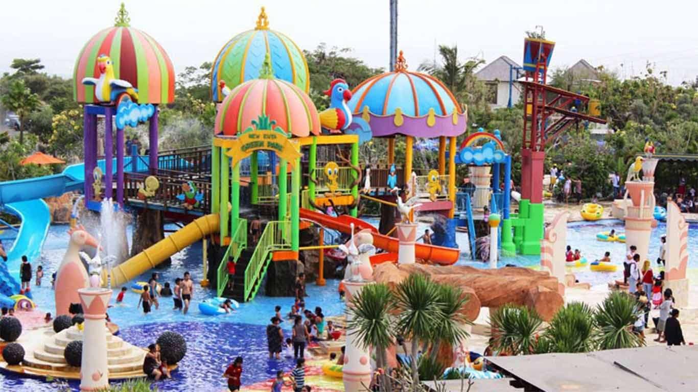Harga Tiket Taman Segara Madu Waterpark