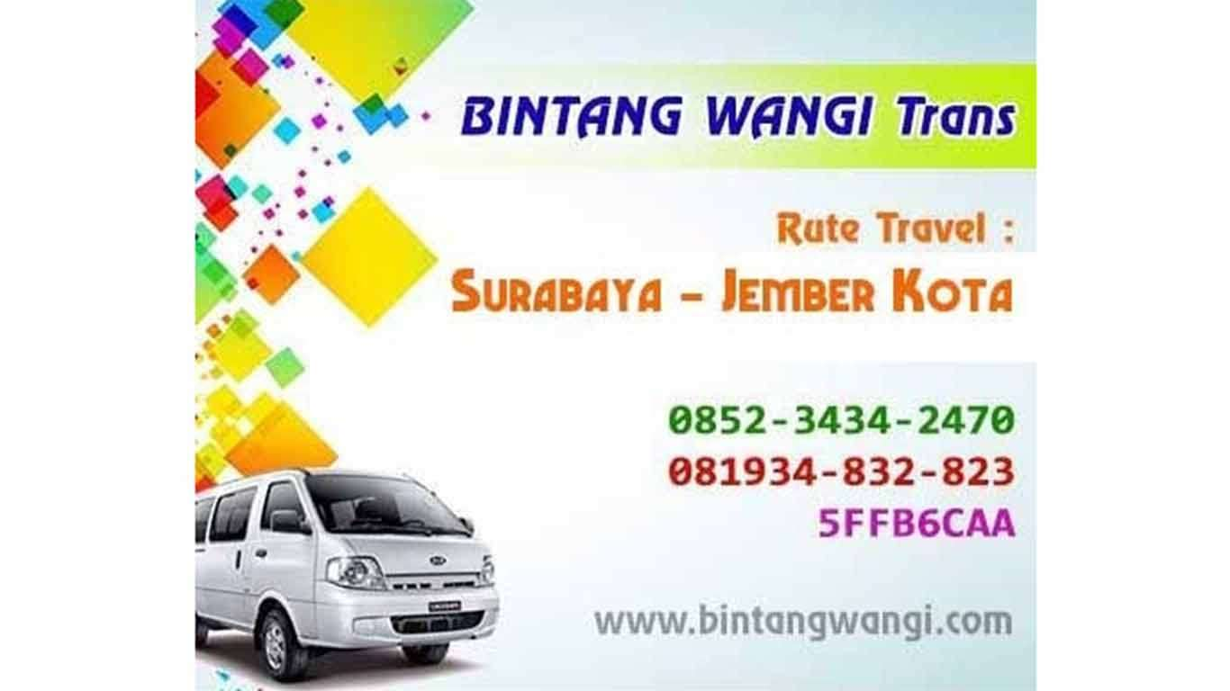 harga travel surabaya jember 2019