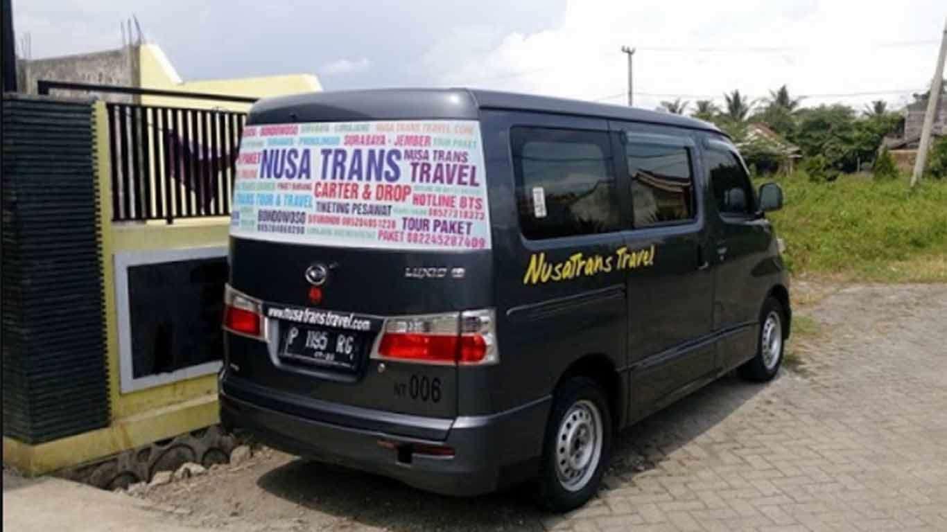 tarif travel surabaya jember 2019