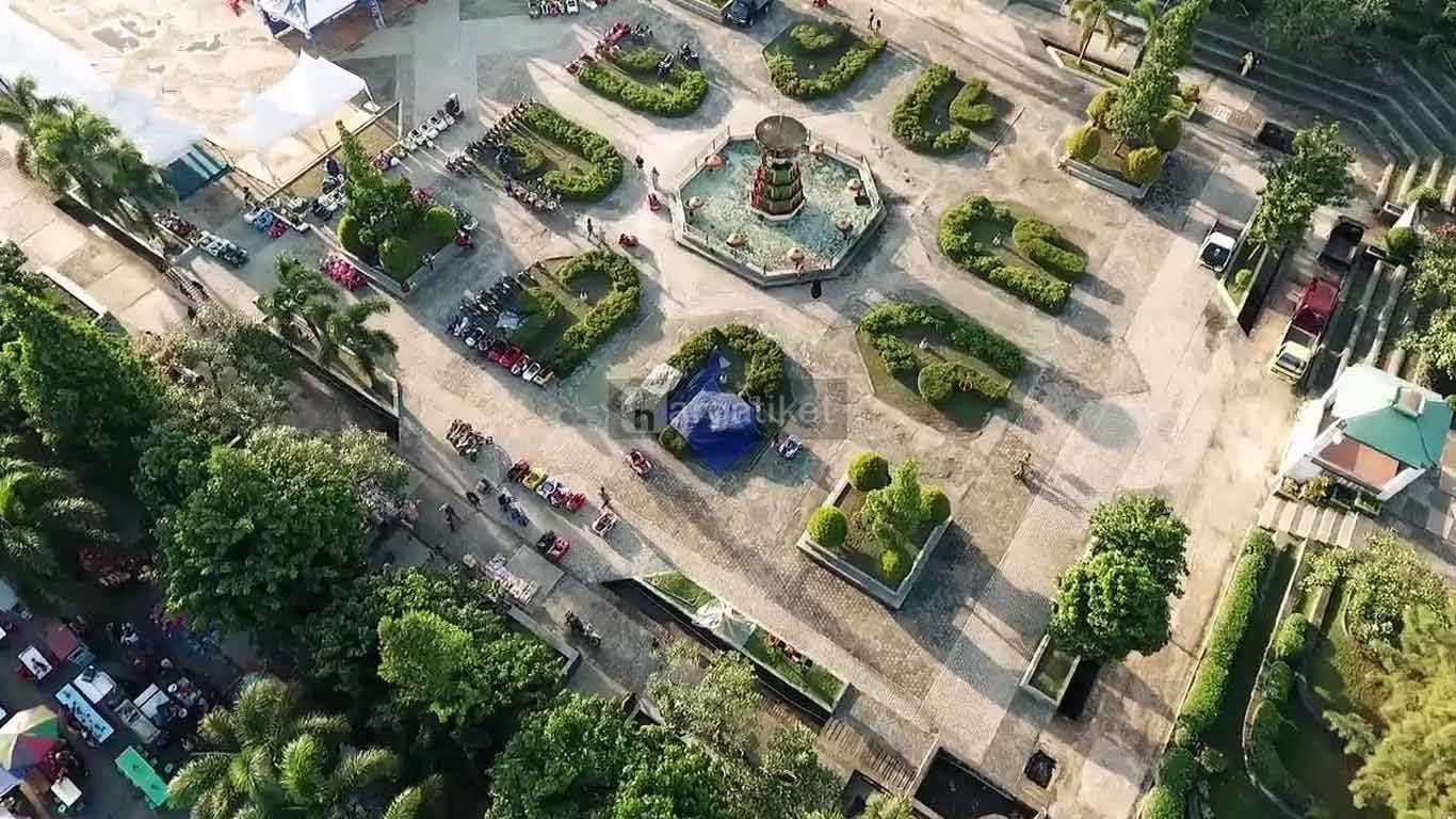 taman kolong wisata kota pangkal pinang, kepulauan bangka belitung