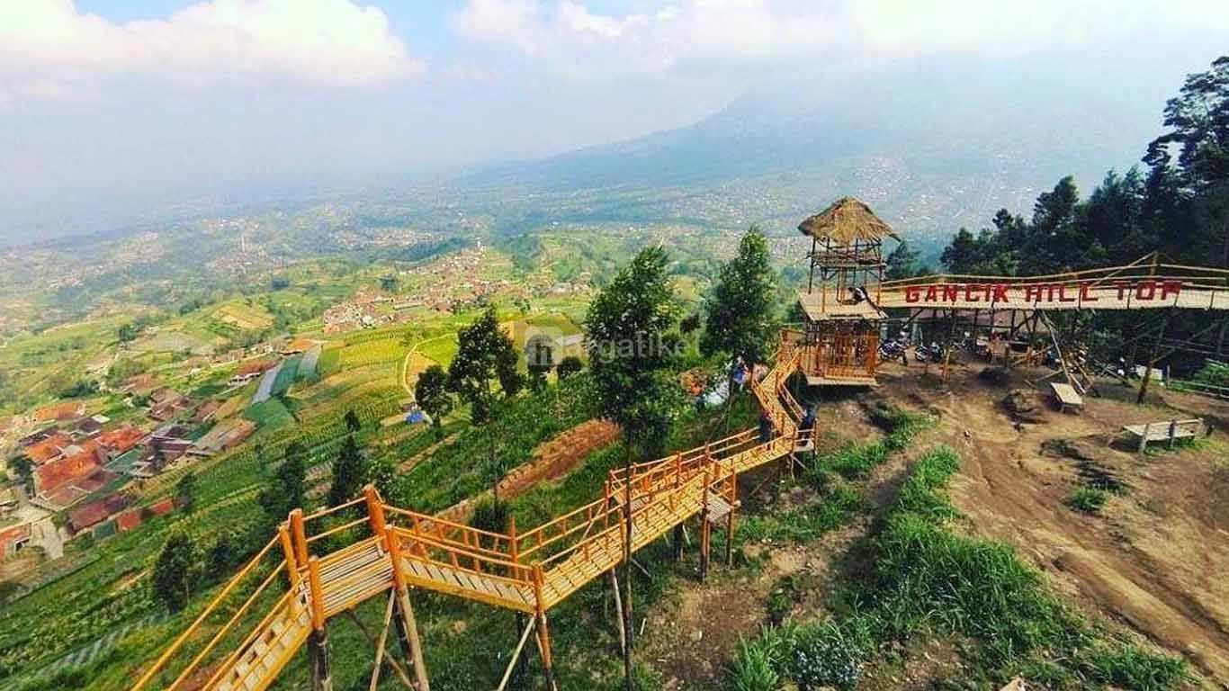 Bukit Gancik Selo Boyolali