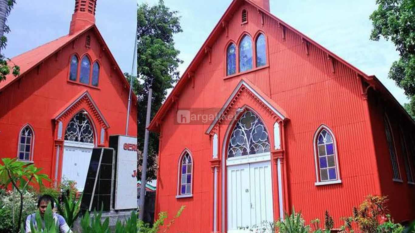 Gereja Merah atau GPIB Jemaat Immanuel