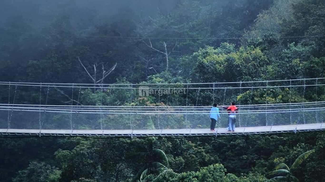 Jembatan Gantung Situ Gunung atau Situ Gunung