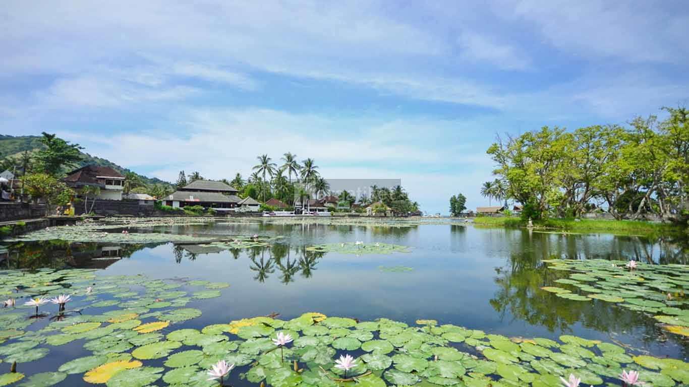 Kolam Teratai (Lotus Lagoon) Candidasa