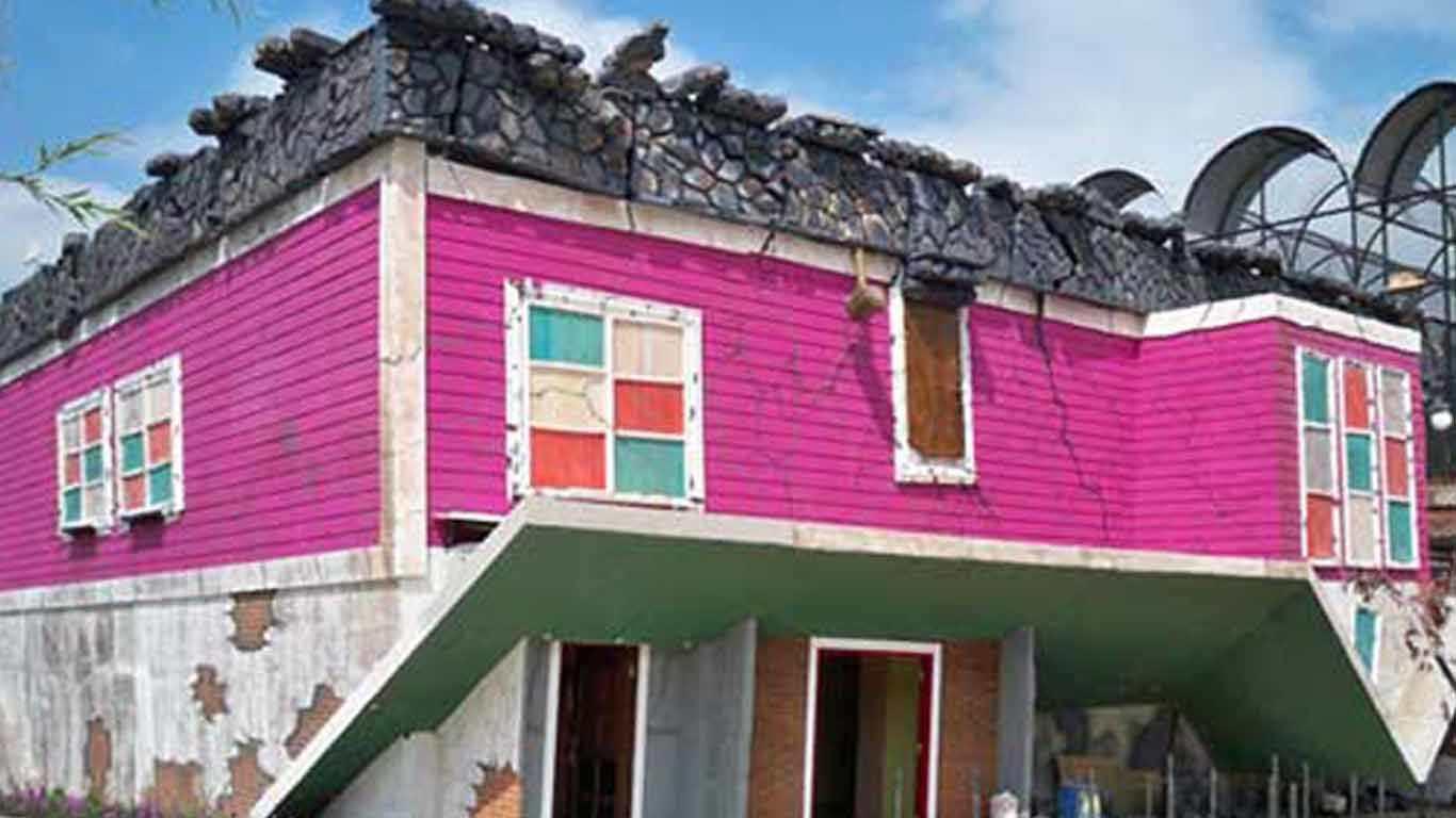 Rumah Terbalik Batu