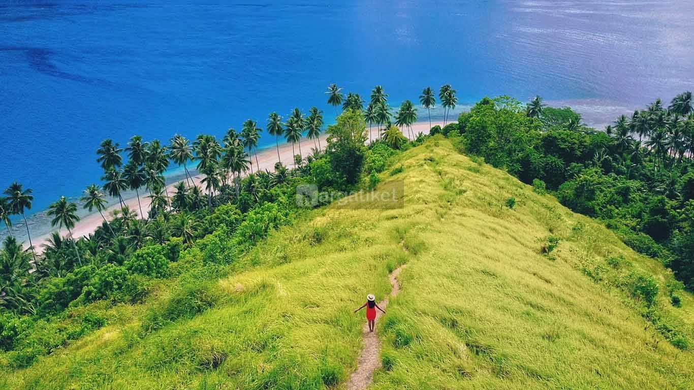 Wisata Pulau Diyonumo Gorontalo