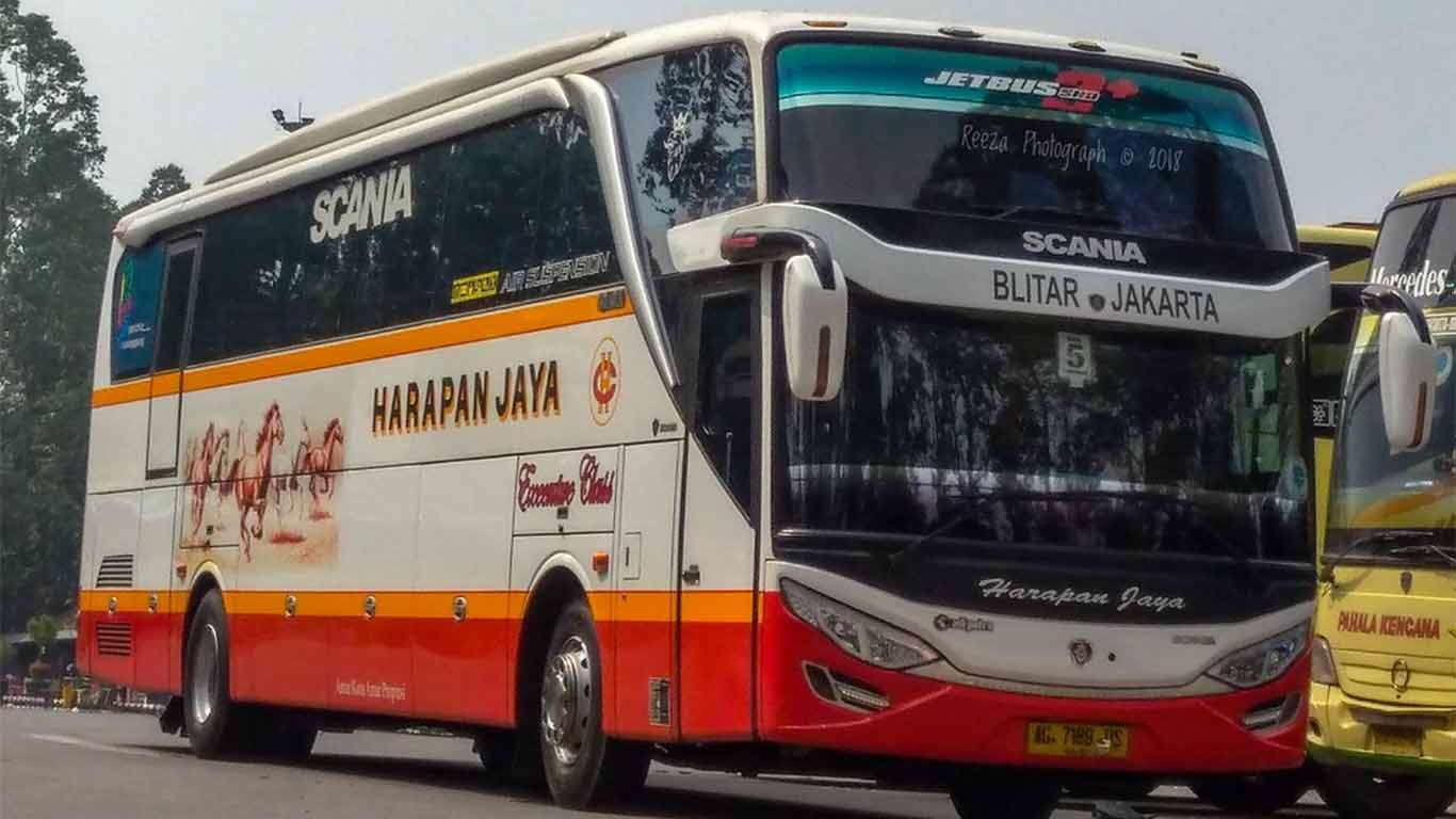 Harga Tiket Bus Harapan Jaya