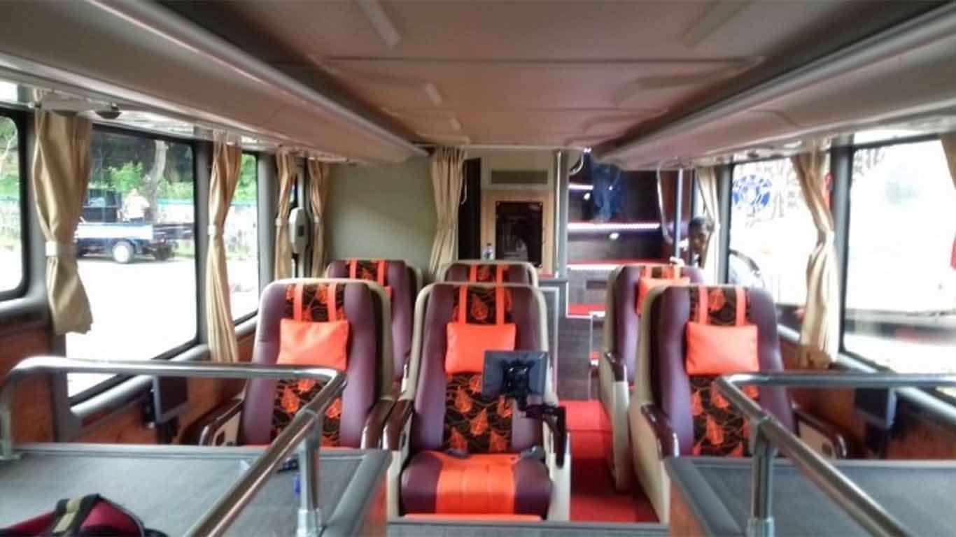 harga tiket bus putera mulya double decker 2019