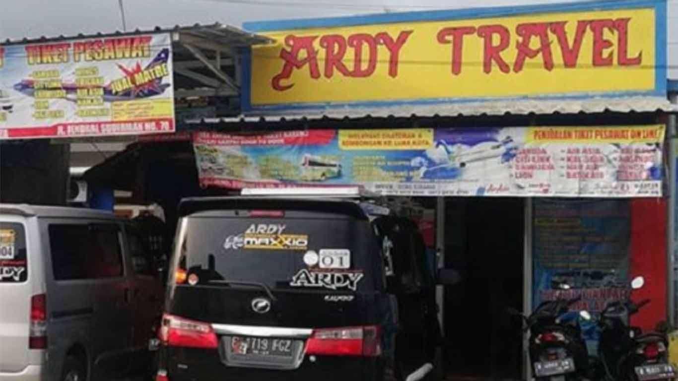 ardy travel bandung cilacap