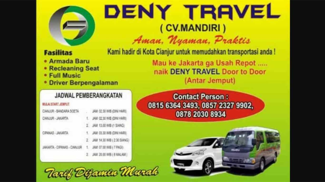deny travel cianjur