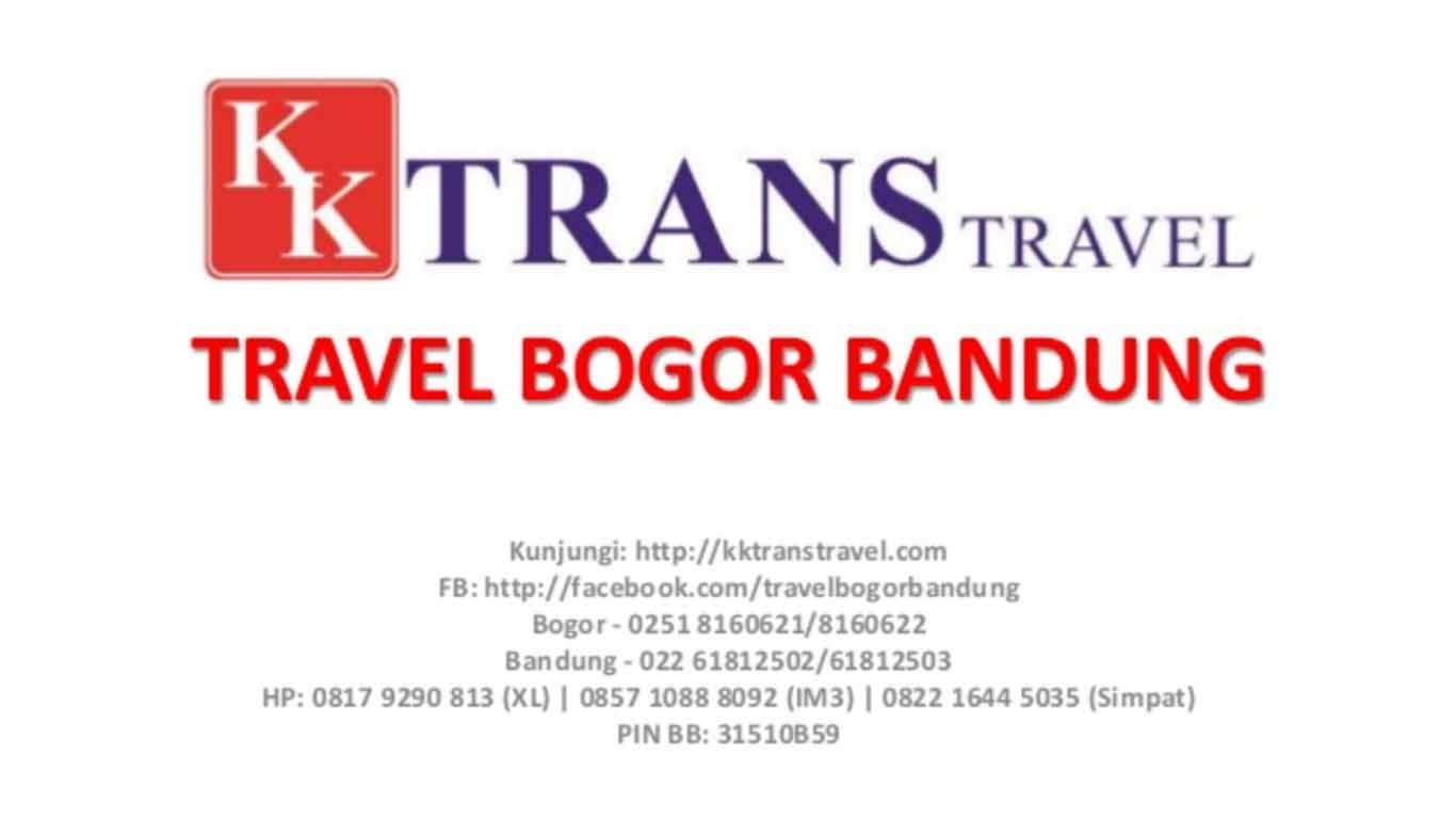 kk trans travel bandung bogor jawa barat