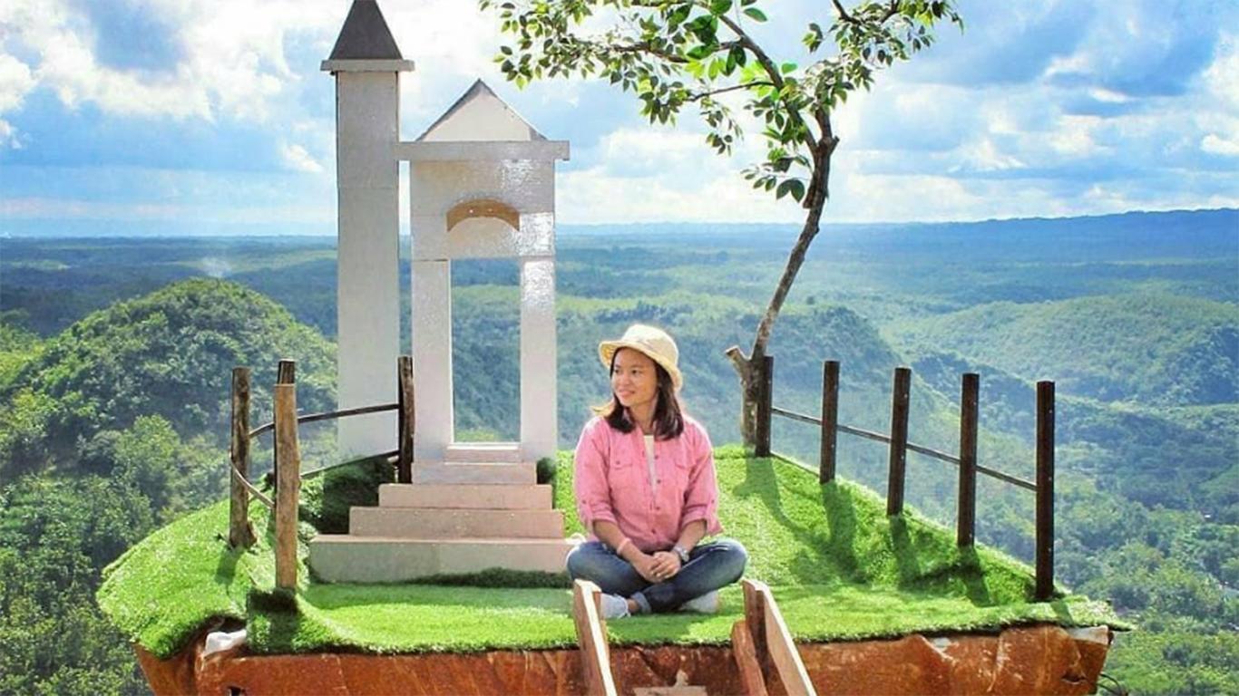 √ Spot foto + Harga Tiket Masuk Bukit Panguk Kediwung