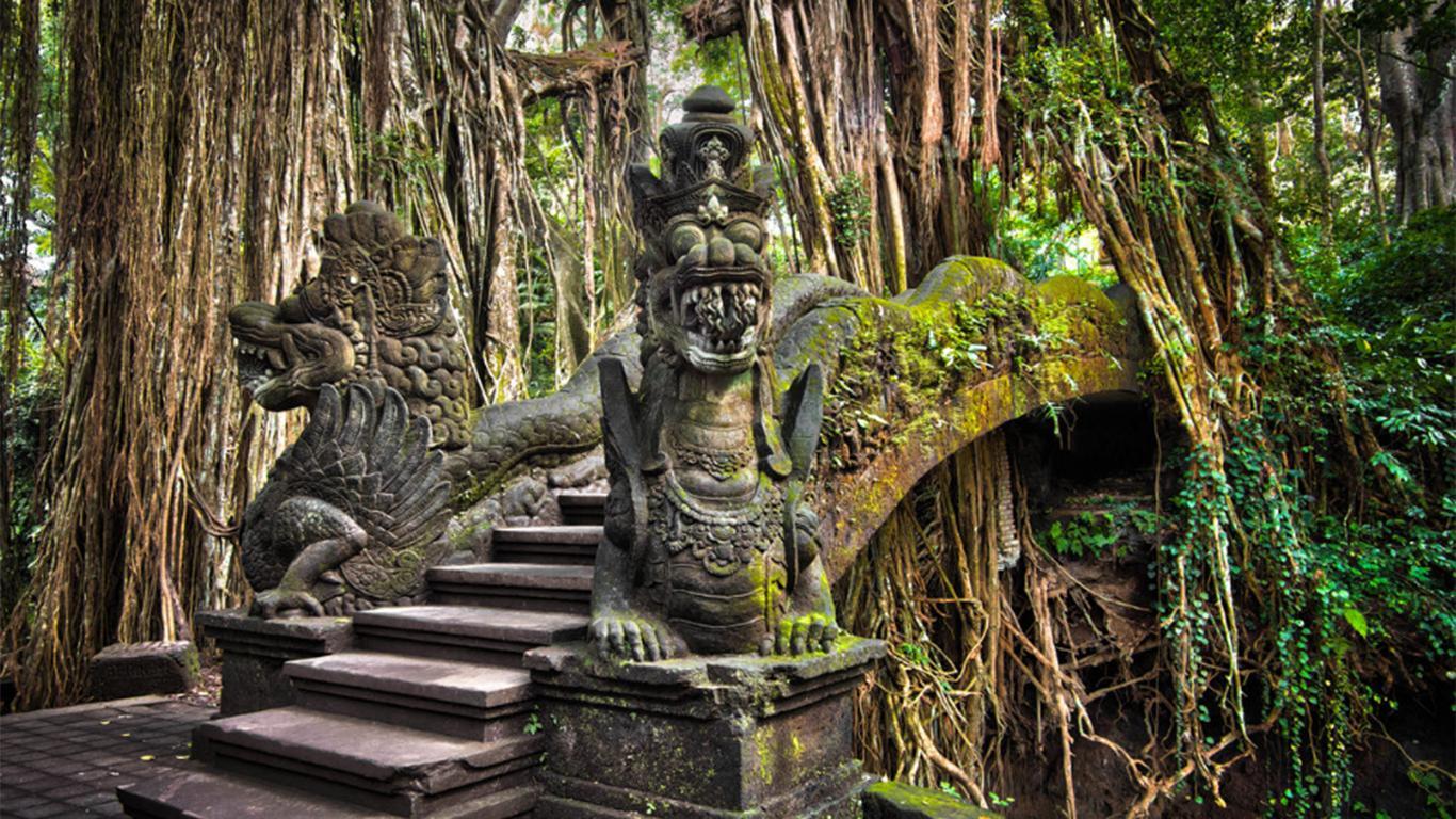sejarah monkey forest ubud