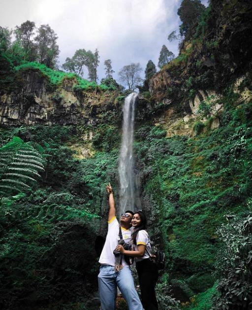 coban talun waterfall