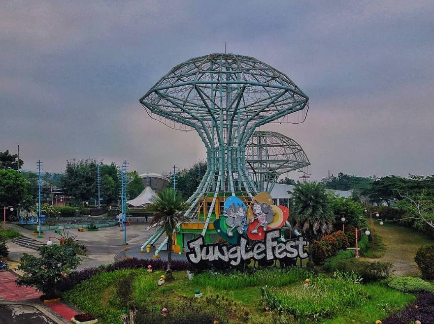 Jungle Fest Bogor: Review Wahana & Harga Tiket (2021)