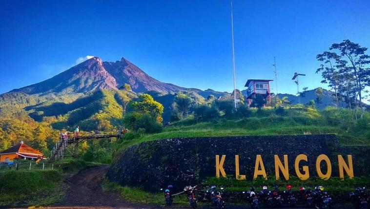 Bukit Klangon, Merapi