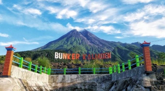 Gunung Merapi di Kaliadem