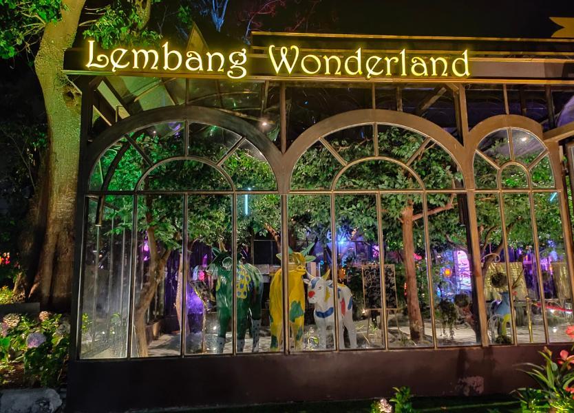 lembang wonderland salju